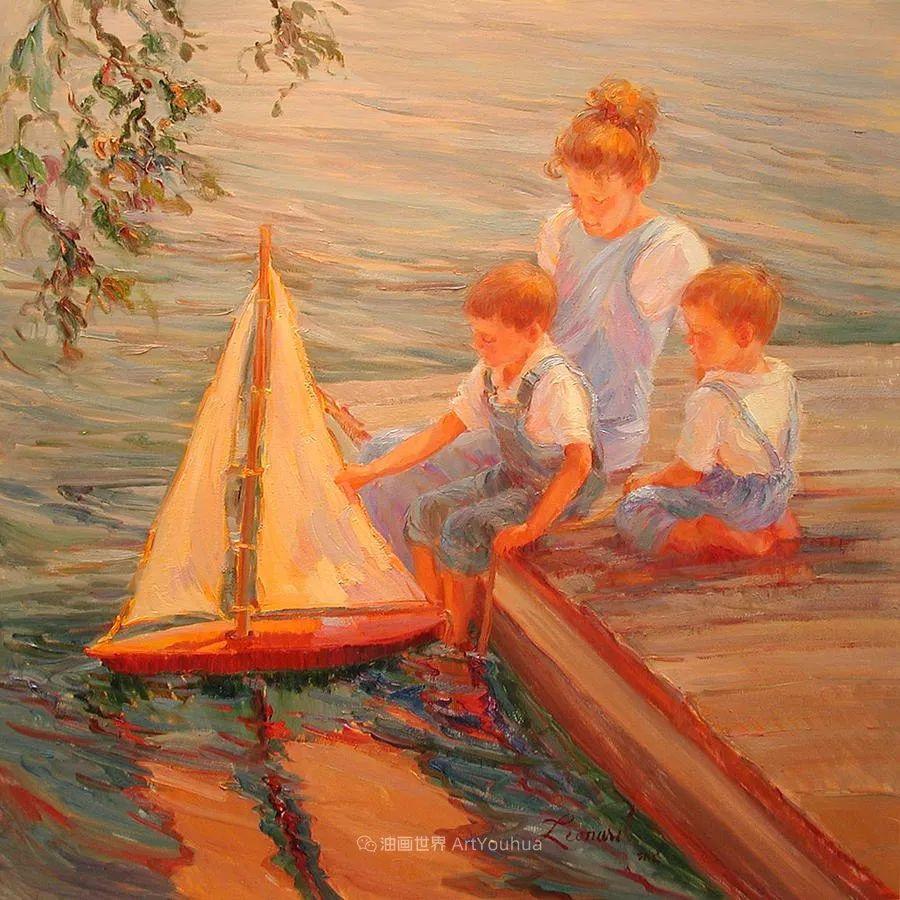 自学成才的她,画里充满了色彩、光和大大的笔触!插图99