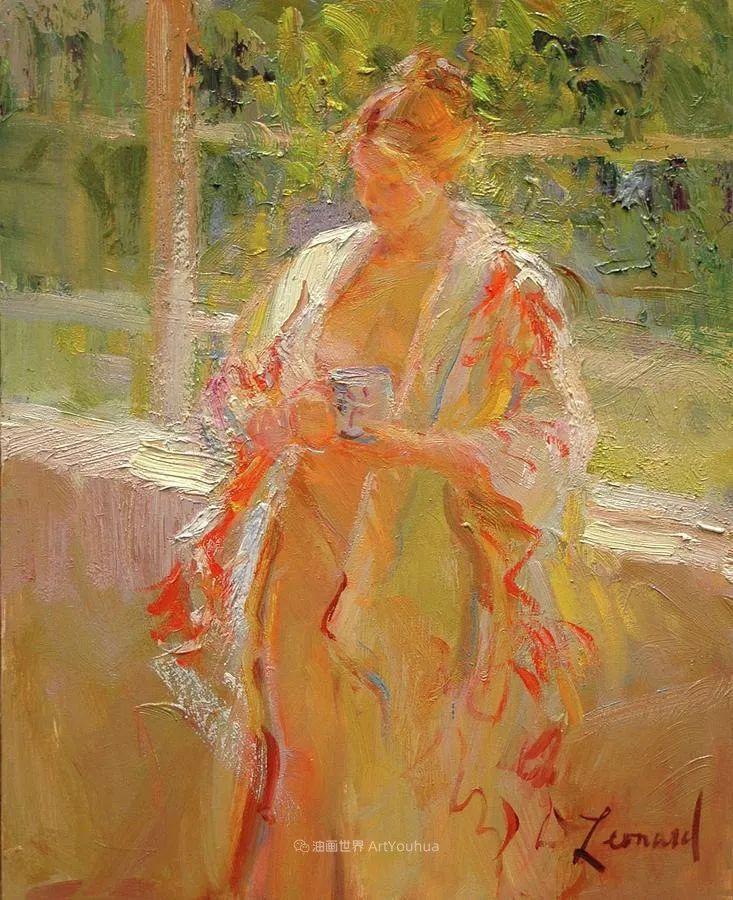 自学成才的她,画里充满了色彩、光和大大的笔触!插图113