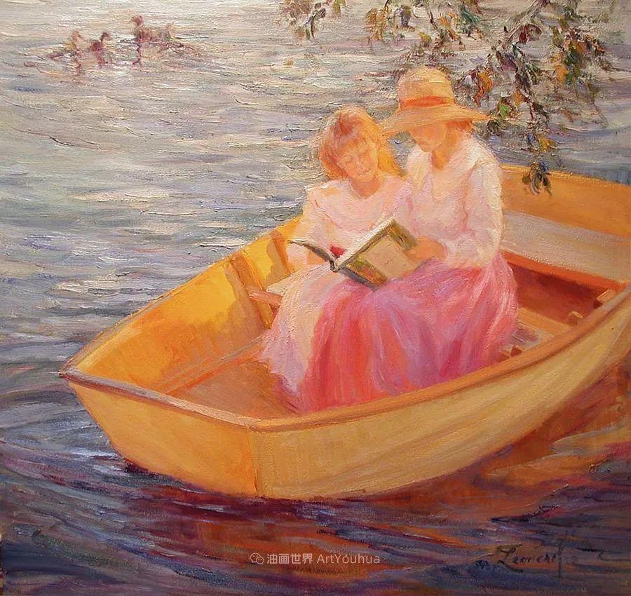 自学成才的她,画里充满了色彩、光和大大的笔触!插图117