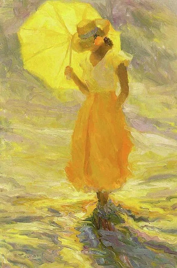自学成才的她,画里充满了色彩、光和大大的笔触!插图127