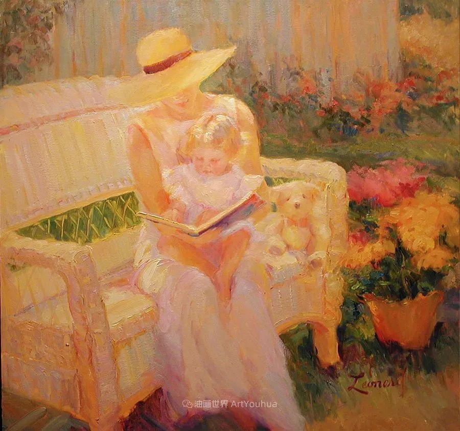 自学成才的她,画里充满了色彩、光和大大的笔触!插图129