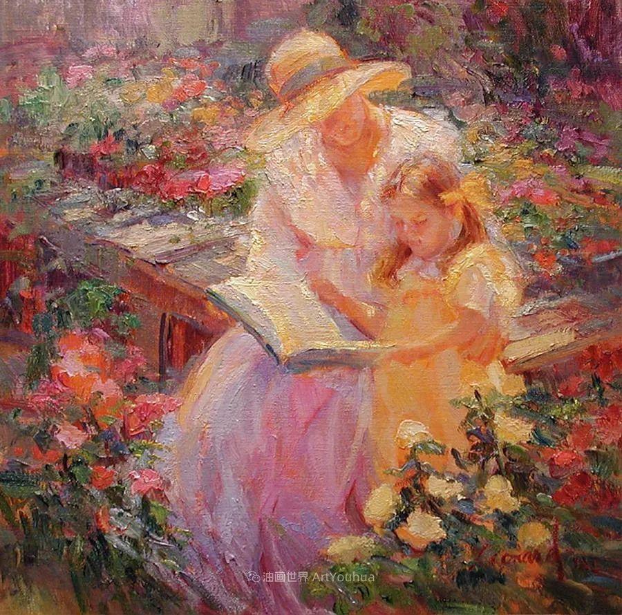 自学成才的她,画里充满了色彩、光和大大的笔触!插图131