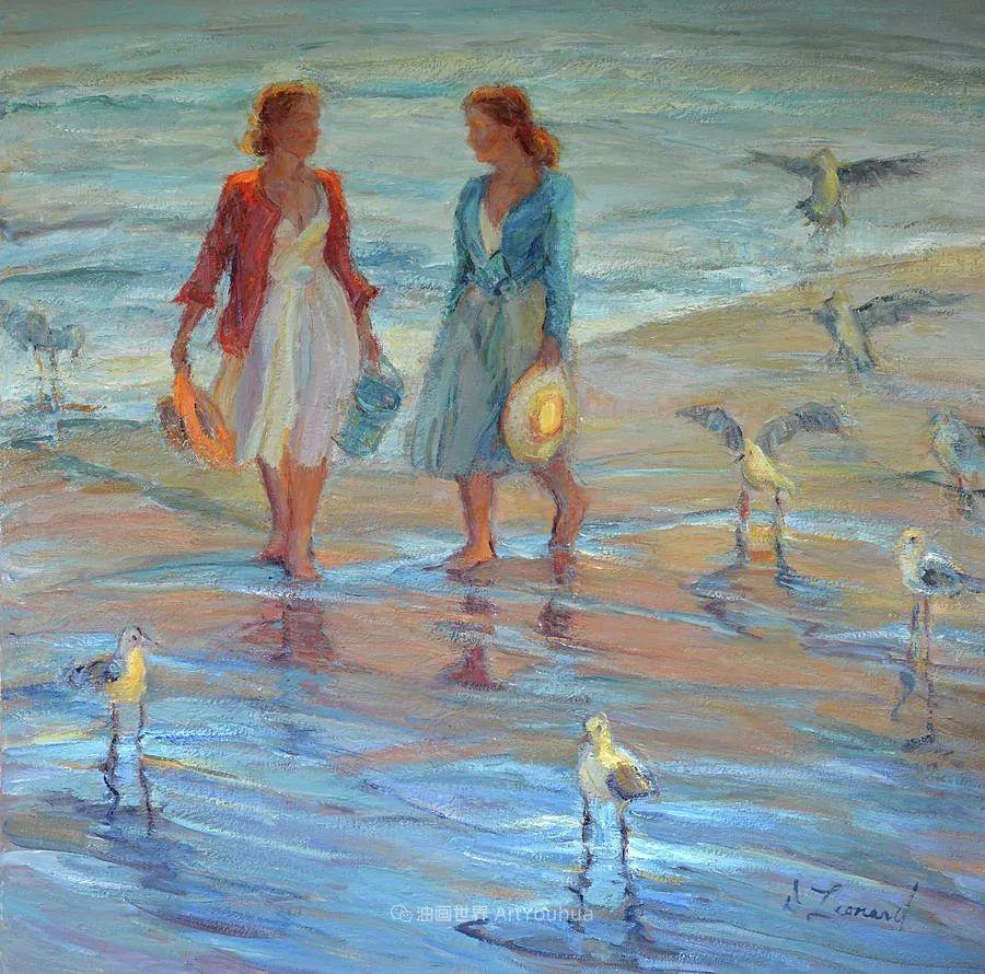 自学成才的她,画里充满了色彩、光和大大的笔触!插图133