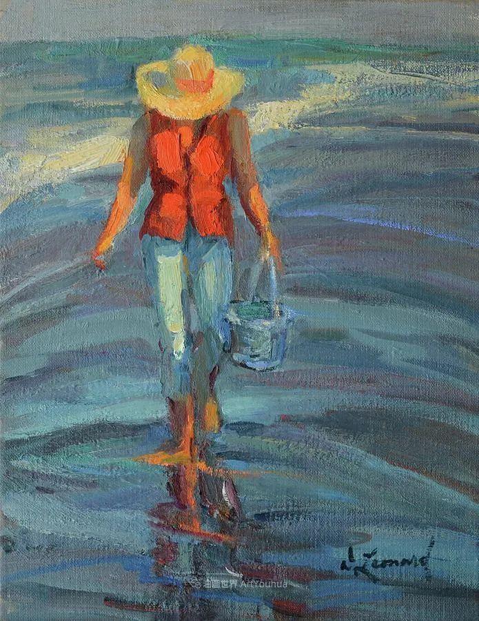 自学成才的她,画里充满了色彩、光和大大的笔触!插图135