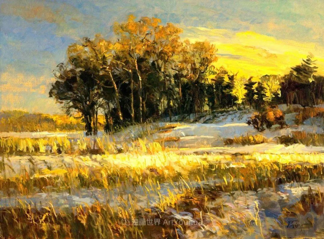 他每一幅画中,真正的主题都是光,绝美!插图11