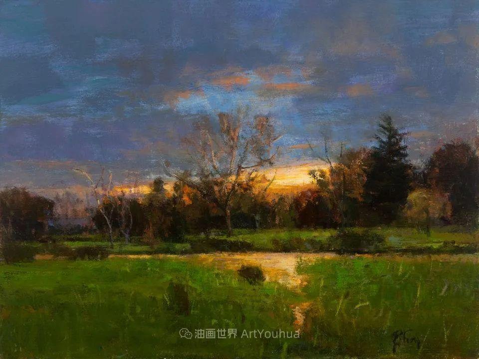 他每一幅画中,真正的主题都是光,绝美!插图41