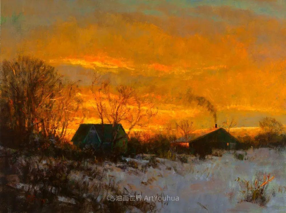 他每一幅画中,真正的主题都是光,绝美!插图43