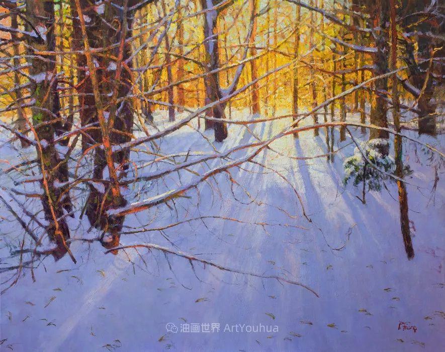 他每一幅画中,真正的主题都是光,绝美!插图65