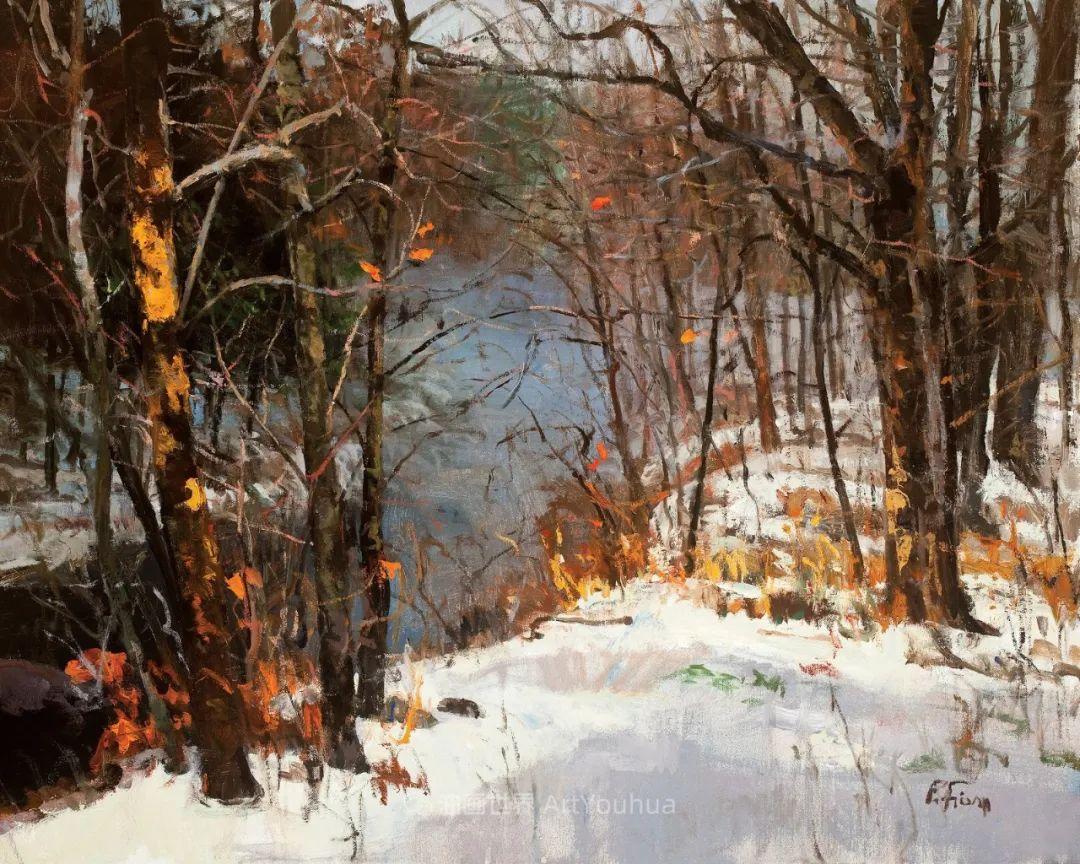 他每一幅画中,真正的主题都是光,绝美!插图67