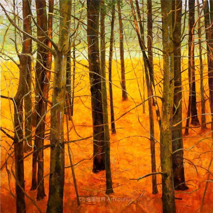 他每一幅画中,真正的主题都是光,绝美!插图89