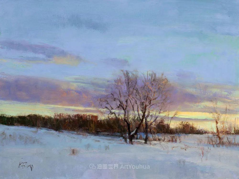 他每一幅画中,真正的主题都是光,绝美!插图105
