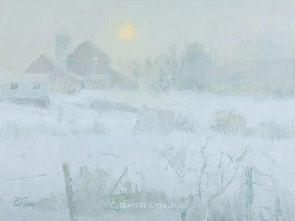 他每一幅画中,真正的主题都是光,绝美!插图119