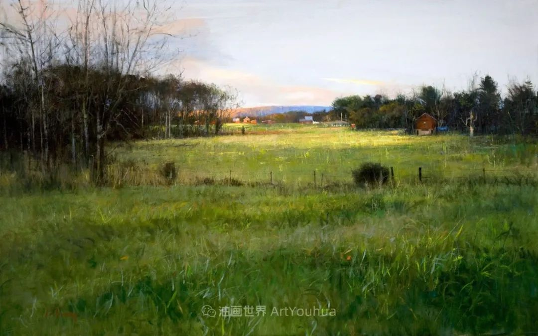 他每一幅画中,真正的主题都是光,绝美!插图123