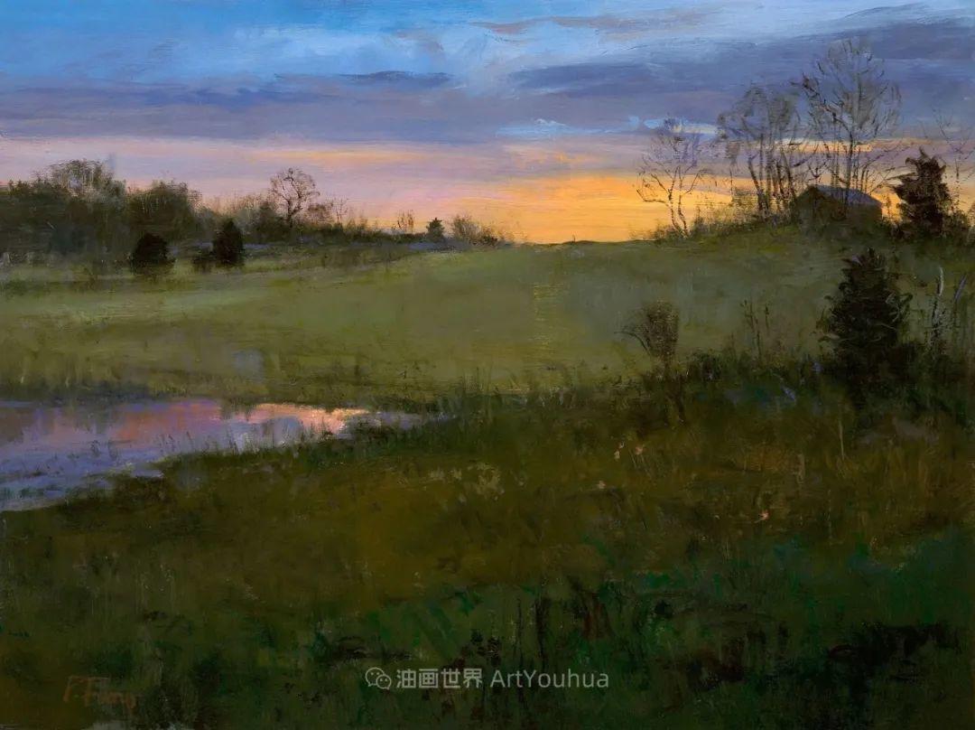 他每一幅画中,真正的主题都是光,绝美!插图127