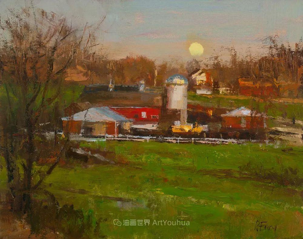 他每一幅画中,真正的主题都是光,绝美!插图145