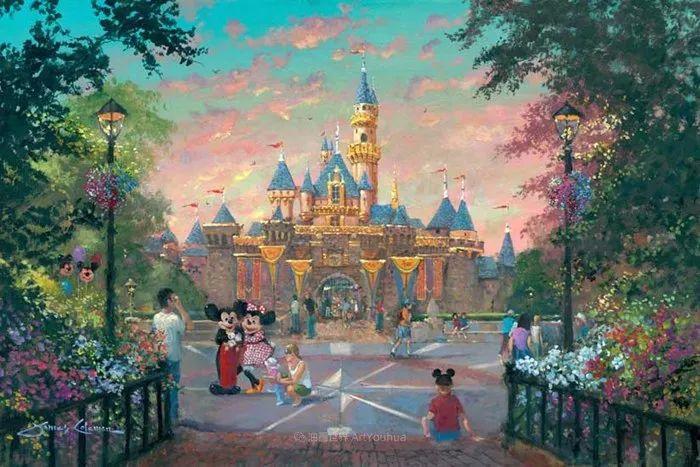 前迪士尼大牛的画,一流的想象力和创造力!插图1