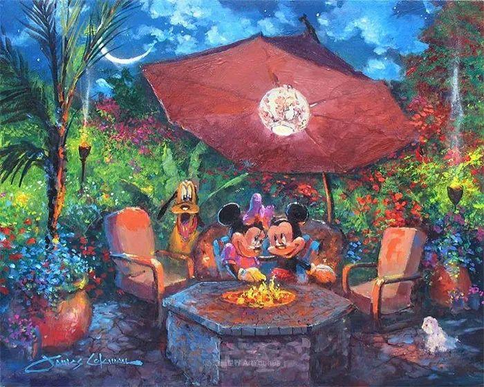 前迪士尼大牛的画,一流的想象力和创造力!插图3