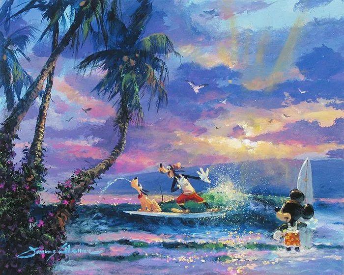 前迪士尼大牛的画,一流的想象力和创造力!插图15