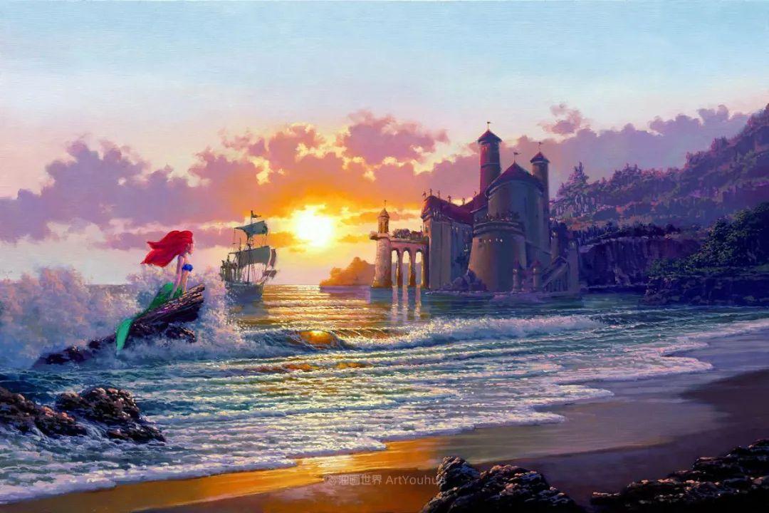 前迪士尼大牛的画,一流的想象力和创造力!插图17
