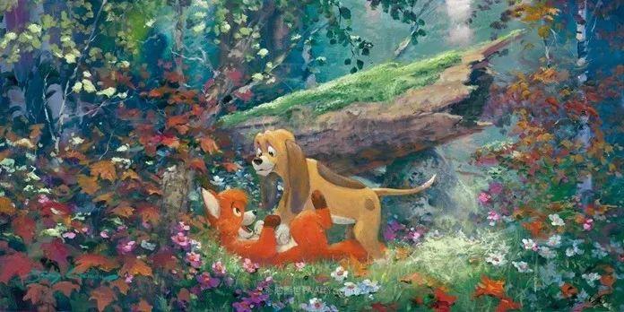 前迪士尼大牛的画,一流的想象力和创造力!插图19