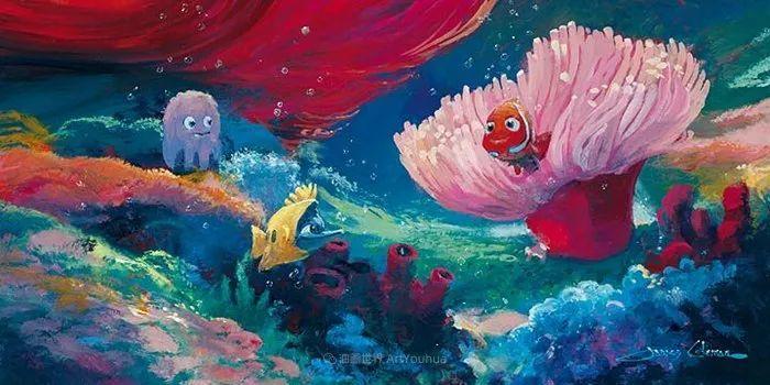 前迪士尼大牛的画,一流的想象力和创造力!插图21