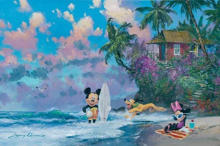 前迪士尼大牛的画,一流的想象力和创造力!插图29