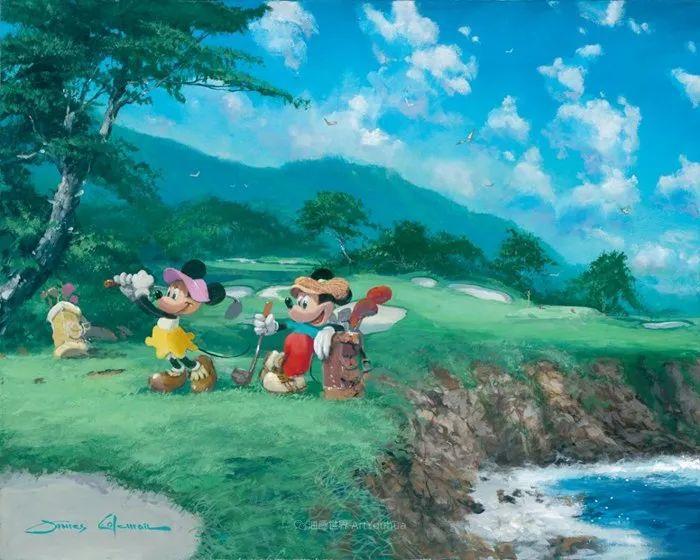 前迪士尼大牛的画,一流的想象力和创造力!插图33