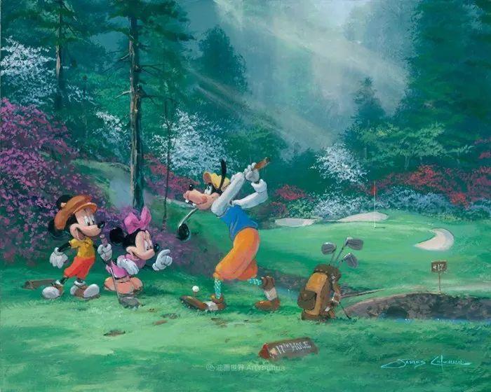 前迪士尼大牛的画,一流的想象力和创造力!插图41