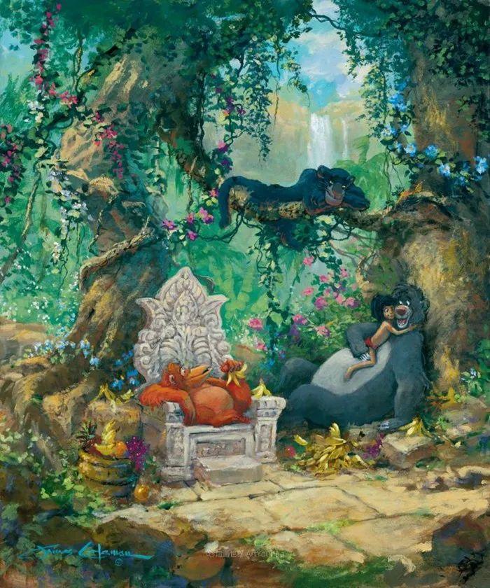 前迪士尼大牛的画,一流的想象力和创造力!插图45