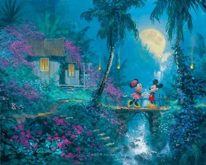 前迪士尼大牛的画,一流的想象力和创造力!插图47