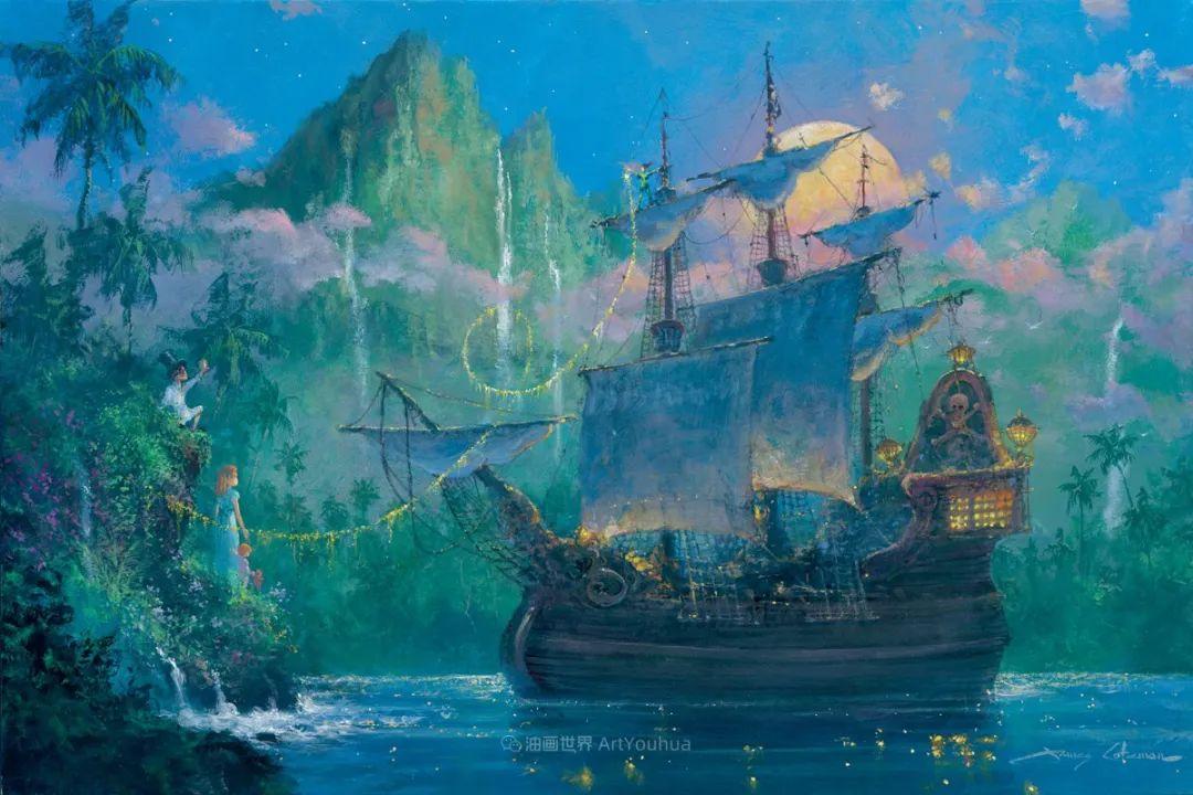 前迪士尼大牛的画,一流的想象力和创造力!插图51