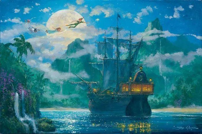 前迪士尼大牛的画,一流的想象力和创造力!插图57