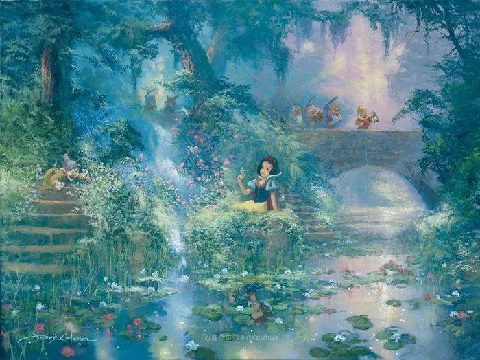前迪士尼大牛的画,一流的想象力和创造力!插图59