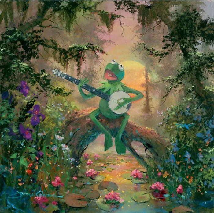 前迪士尼大牛的画,一流的想象力和创造力!插图61