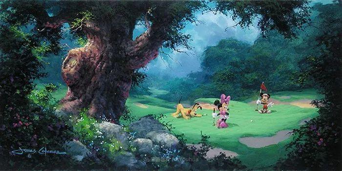 前迪士尼大牛的画,一流的想象力和创造力!插图63