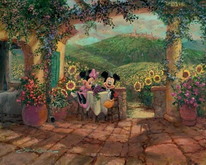 前迪士尼大牛的画,一流的想象力和创造力!插图77