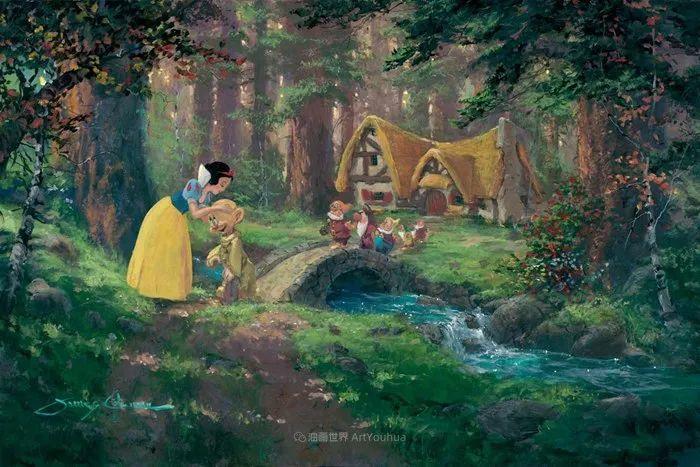 前迪士尼大牛的画,一流的想象力和创造力!插图97
