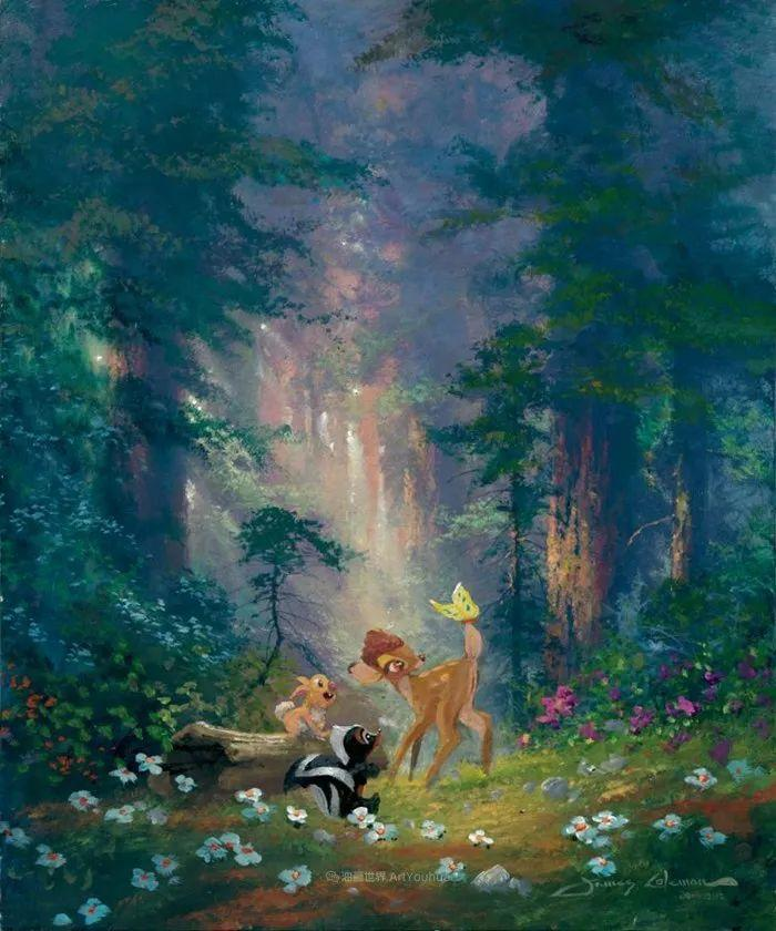 前迪士尼大牛的画,一流的想象力和创造力!插图101