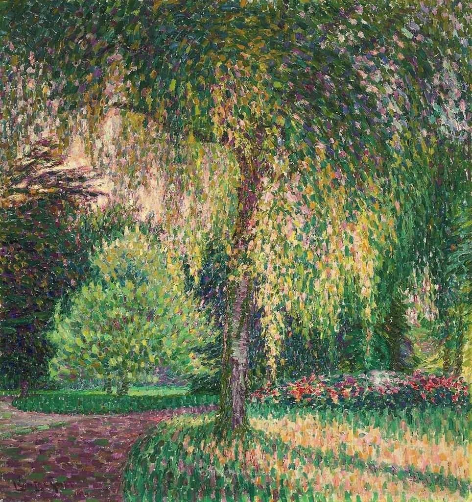 比利时画家 Léon de Smet  莱昂·德·史密特  作品欣赏插图1