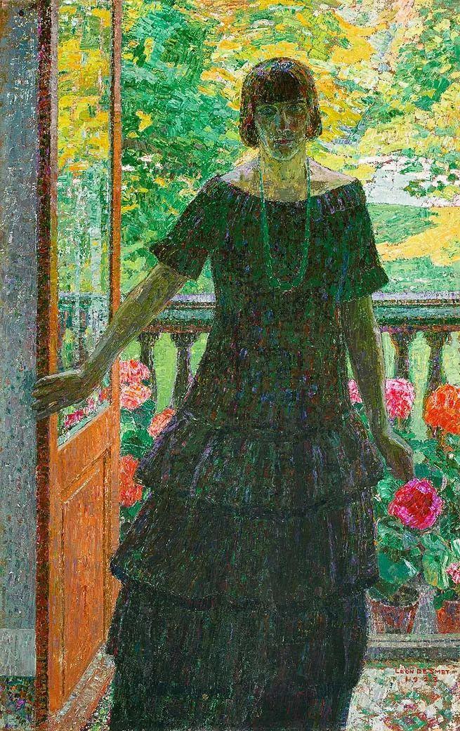 比利时画家 Léon de Smet  莱昂·德·史密特  作品欣赏插图3