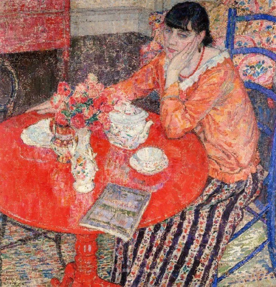 比利时画家 Léon de Smet  莱昂·德·史密特  作品欣赏插图5