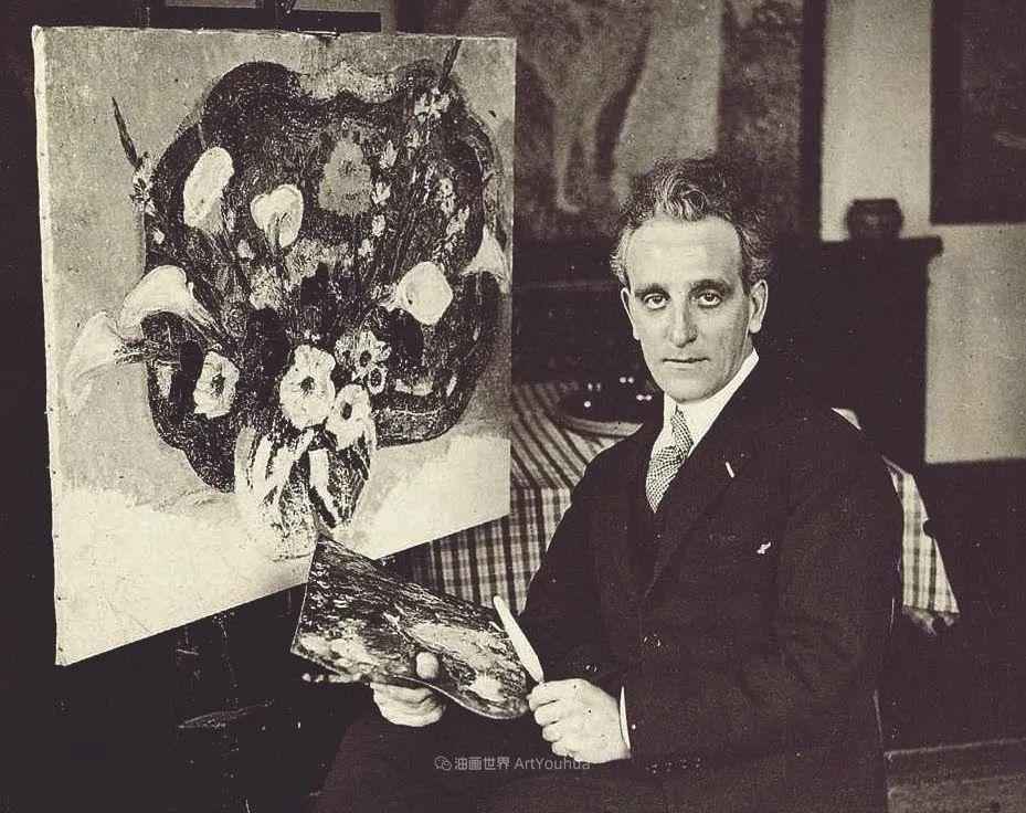 比利时画家 Léon de Smet  莱昂·德·史密特  作品欣赏插图7