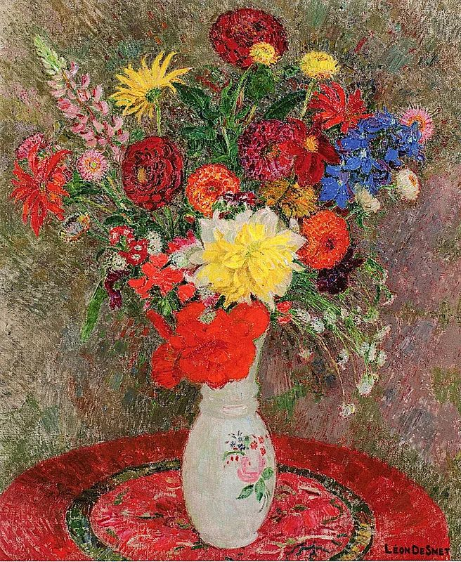 比利时画家 Léon de Smet  莱昂·德·史密特  作品欣赏插图9