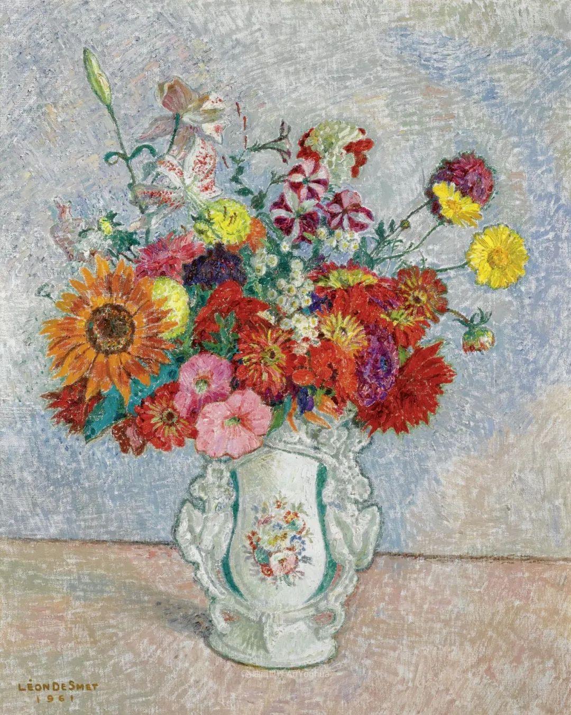 比利时画家 Léon de Smet  莱昂·德·史密特  作品欣赏插图13