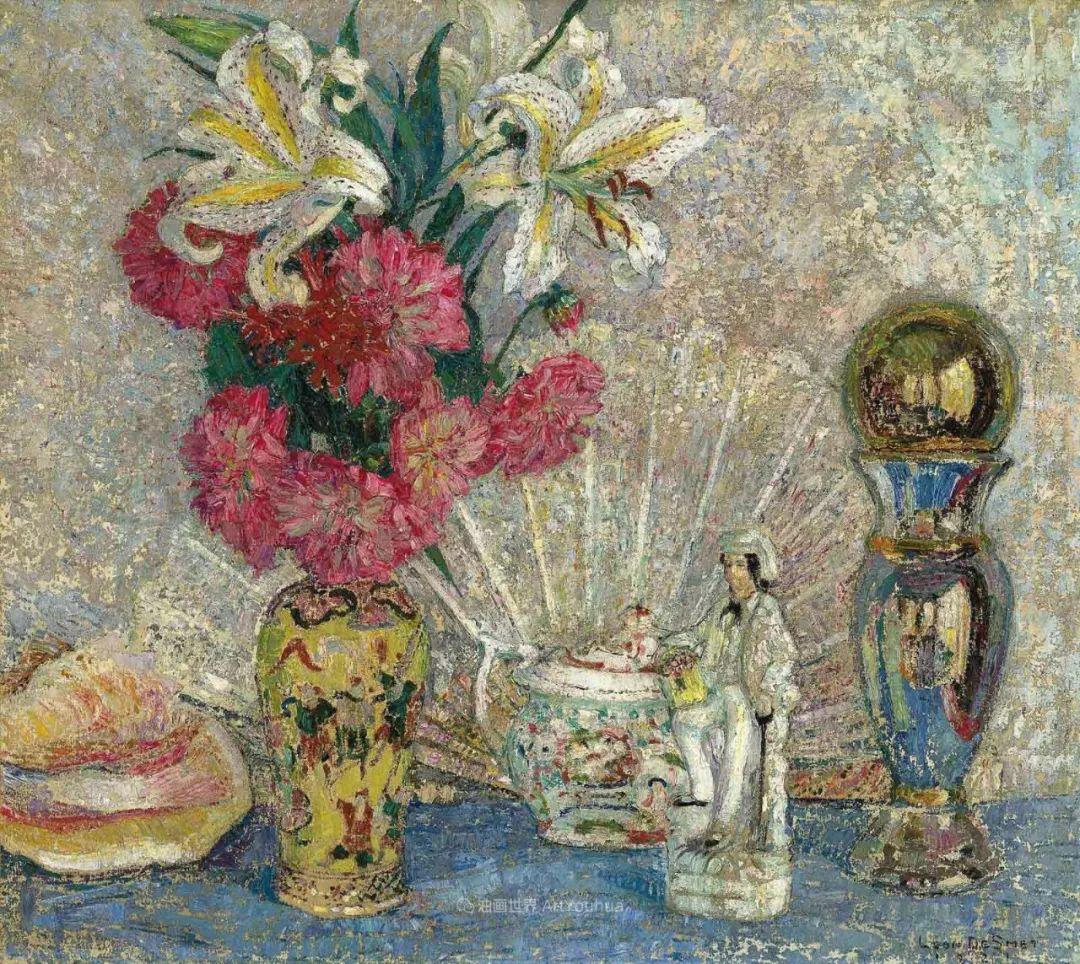 比利时画家 Léon de Smet  莱昂·德·史密特  作品欣赏插图17