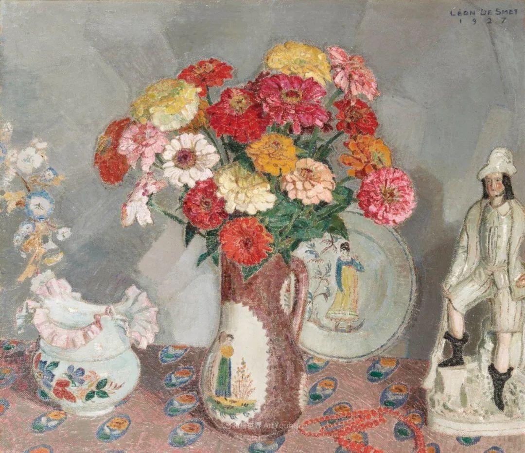 比利时画家 Léon de Smet  莱昂·德·史密特  作品欣赏插图19
