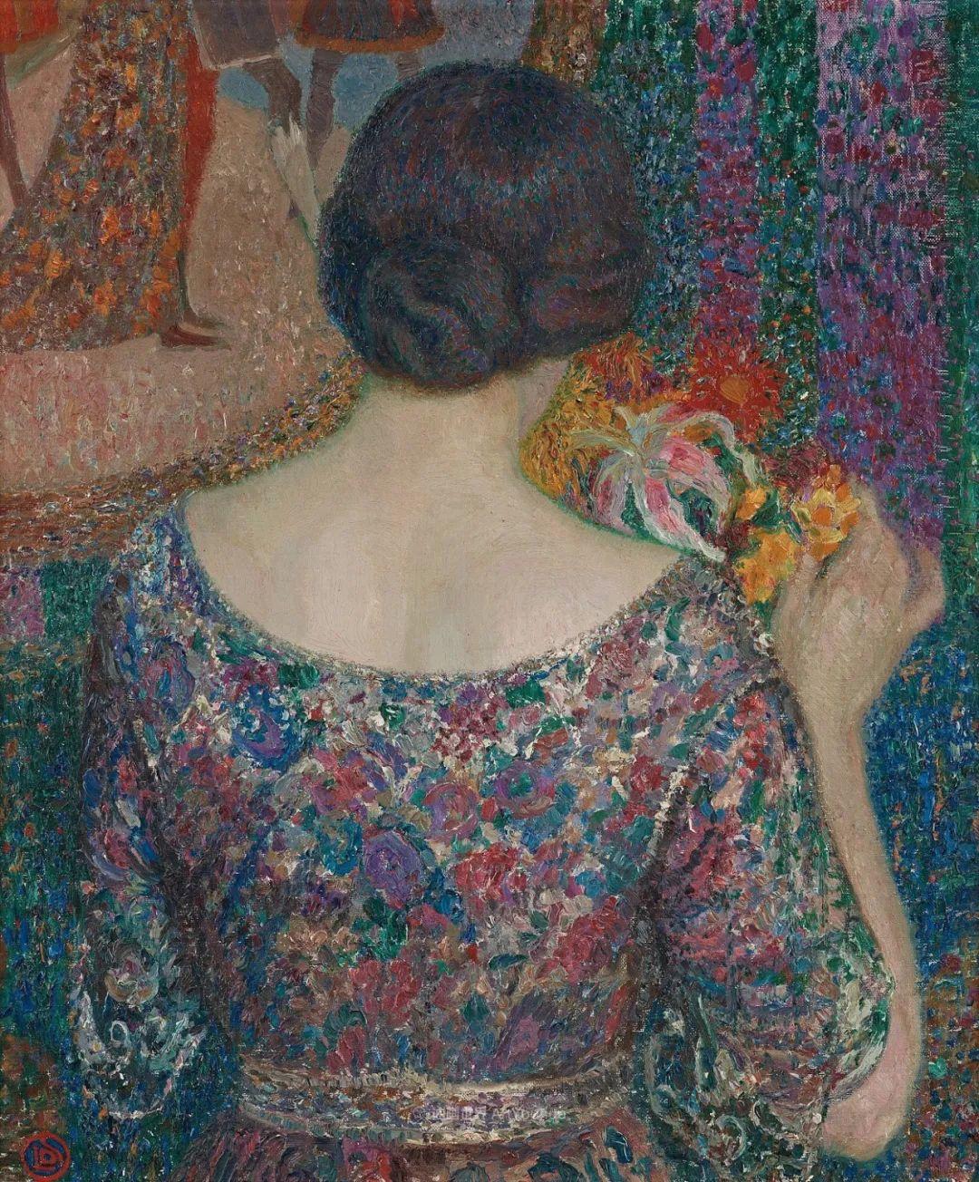 比利时画家 Léon de Smet  莱昂·德·史密特  作品欣赏插图21
