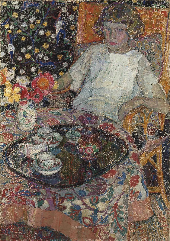 比利时画家 Léon de Smet  莱昂·德·史密特  作品欣赏插图23