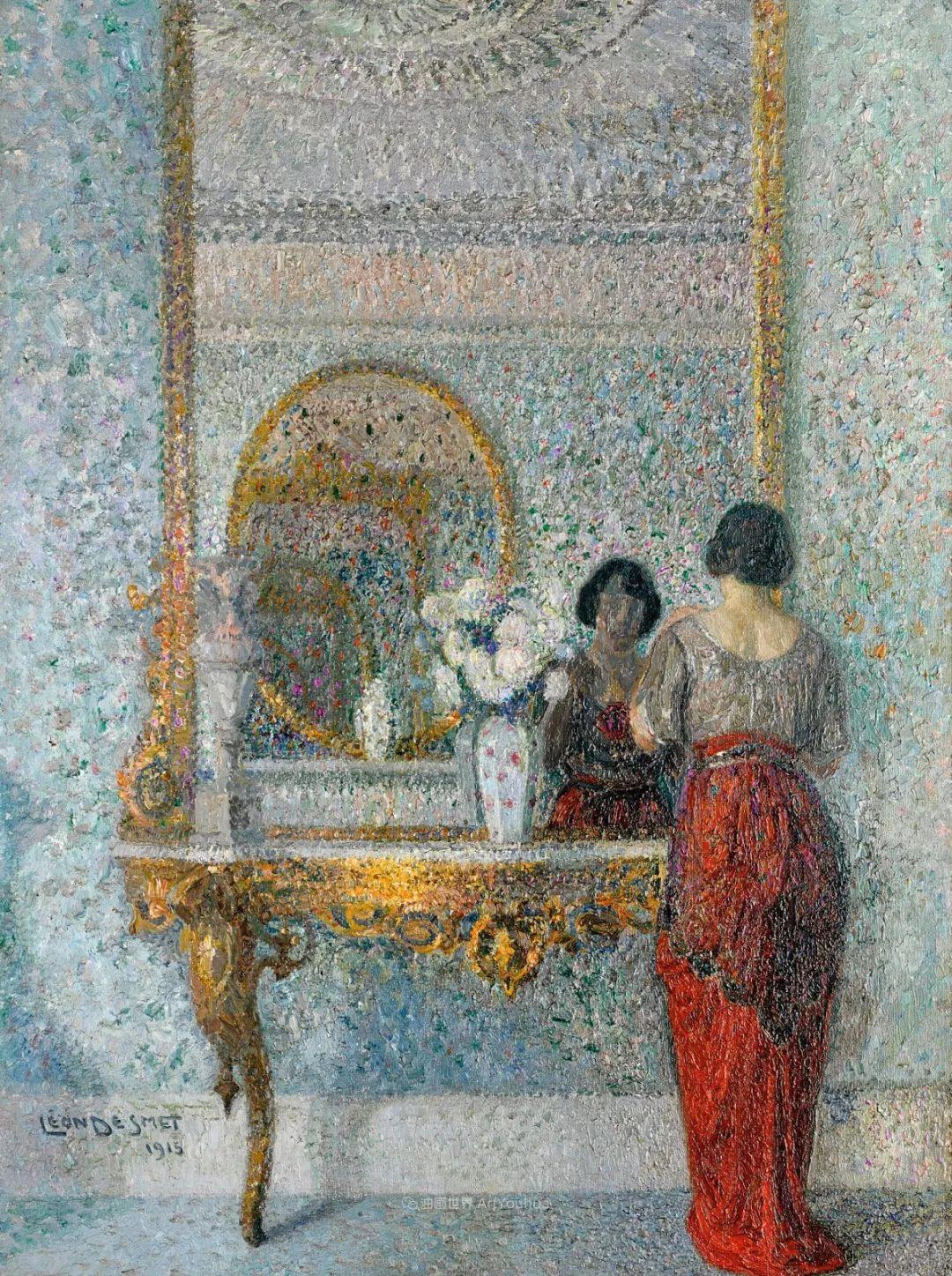 比利时画家 Léon de Smet  莱昂·德·史密特  作品欣赏插图25