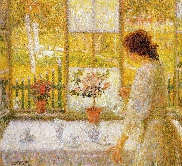 比利时画家 Léon de Smet  莱昂·德·史密特  作品欣赏插图27